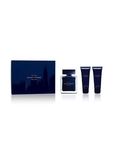 Bleu Noire Edt 100 Ml+ 75 Mlx2 Shower Gel Erkek Parfüm Set-Narciso Rodriguez